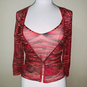 PRE-OWNED EXPRESS MULTICOLOR SWEATER & TOP, SIZE S
